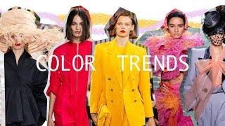 Color Trends - Spring/Summer 2019