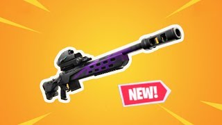 NEW  Storm Scout Sniper Rifle GAMEPLAY   Fortnite Battle Royale