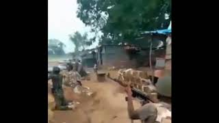 Nigeria Army Repelling Boko Haram Attack in a fierce Gun Battle Exchange In The North East