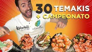 30 Temakis Challenge (9 pound japanese food)