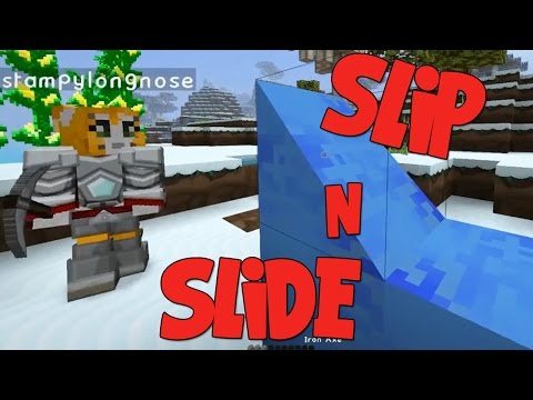 Minecraft - Crazy Craft 2.2 - Slip n Slide! [15]