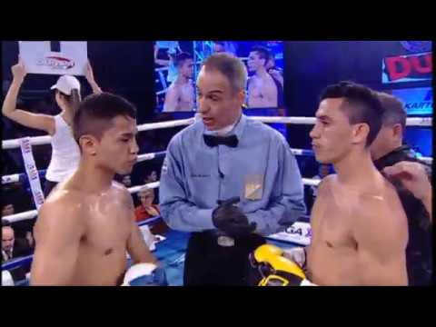 "JUNIOR ""EL DEMONIO"" ZARATE VS RICARDO IBARRA - TRB BOXEO 23/06/2017"