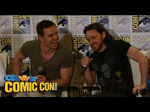 X-Men: Days Of Future Past Press Conference 2013 Comic-Con: Hugh Jackman, Michael Fassbender
