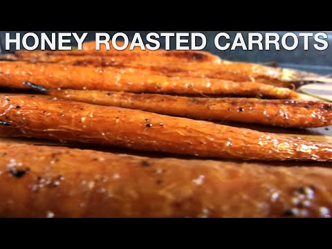 Honey Roasted Carrots - You Suck at Cooking (episode 75)