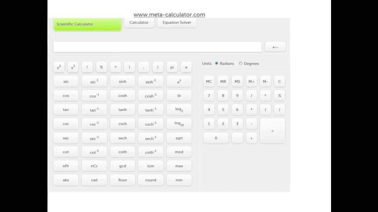 Online scientific calculator to use