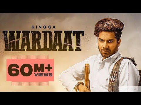 Wardaat (Full video) | Singga | Desi Crew | Latest Punjabi Songs 2019 | Patiala Shahi Records