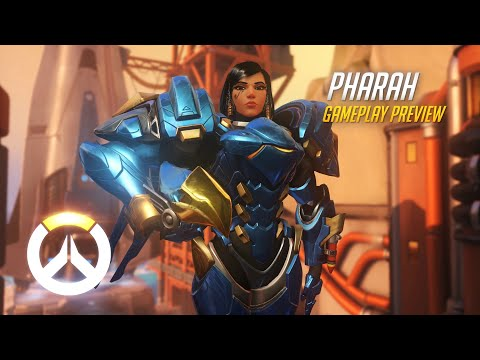 Pharah Gameplay Preview   Overwatch   1080p HD, 60 FPS