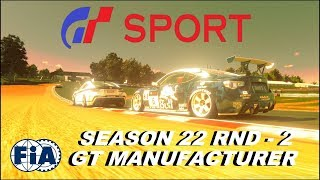 GT Sport This Is Why I Play GT Sport - FIA Manufacturer SEASON 22 Round 2 GR.4 Top Split