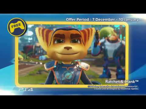 [PS Plus December 2017 Offers]