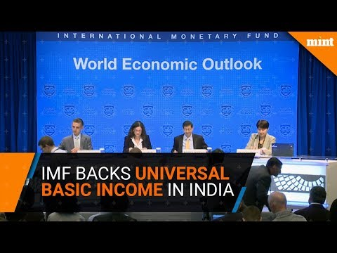 IMF backs Universal Basic Income in India