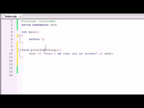 Buckys C++ Programming Tutorials   9   Functions
