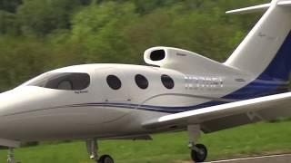EPIC VICTORY BUSINESS JET RC TURBINE MODEL AIRPLANE DEMO FLIGHT