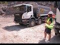 Презентация самосвалов Scania на Ракитнянском гранитном карьере