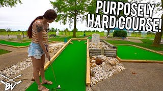 Good Luck Getting a Mini Golf Hole in One at this Mini Golf Course!