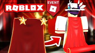 [EVENT] HOW TO GET THE RED CARPET CAPE IN ROBLOX | 2019 BLOXYS EVENT