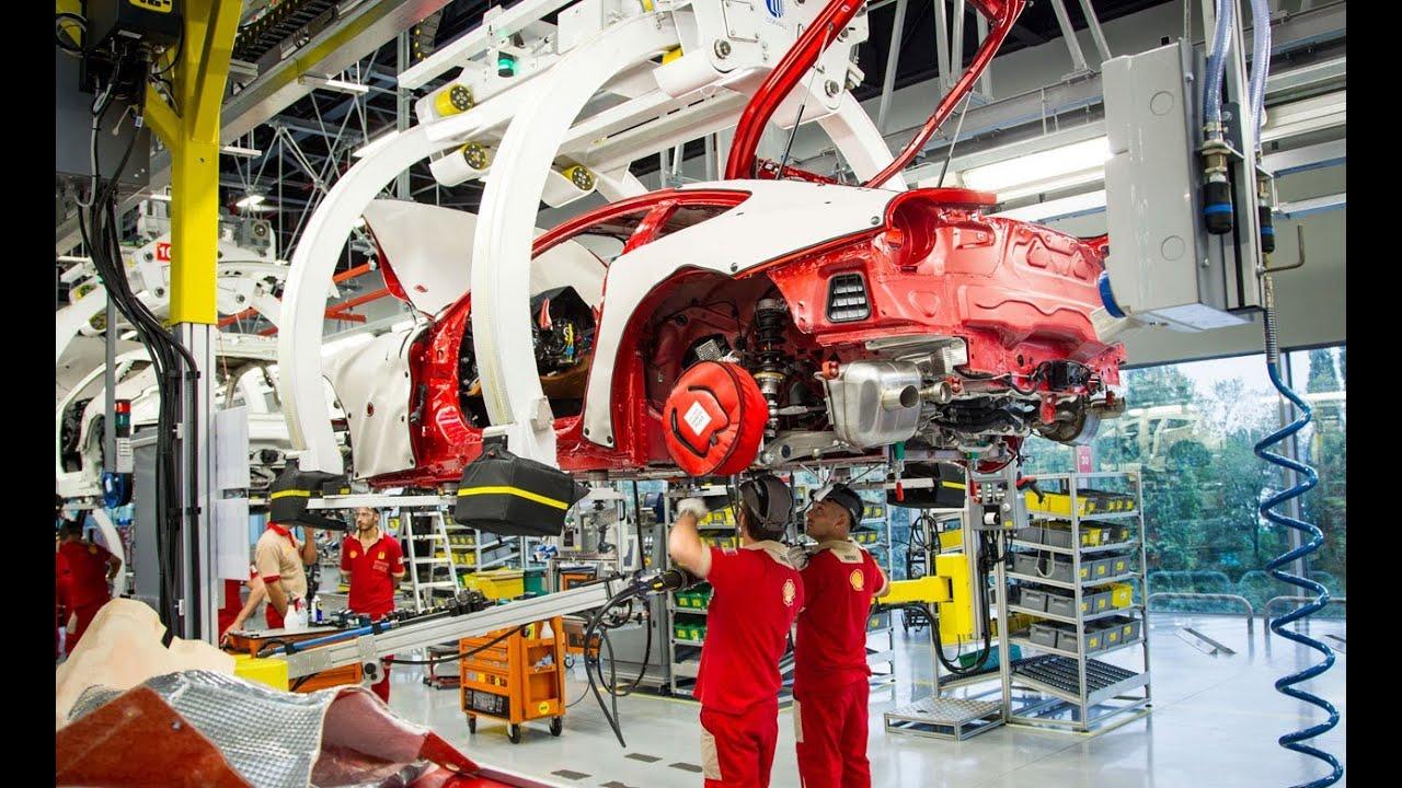2012 Ferrari Factory Tour Youtube