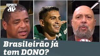 Tem RIVAL? Líder Palmeiras é EXALTADO após 4 a 0 no Santos!