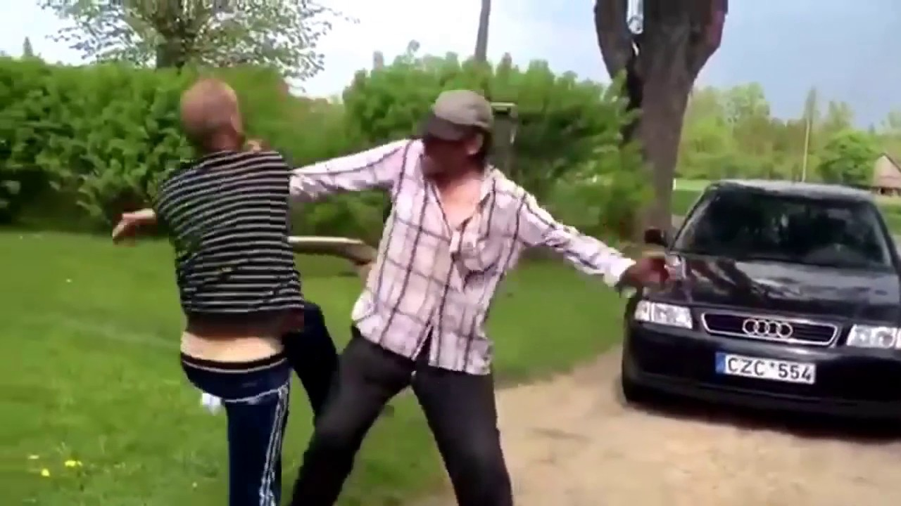 The Ultimate Drunk Fight Called By Ozzy Man
