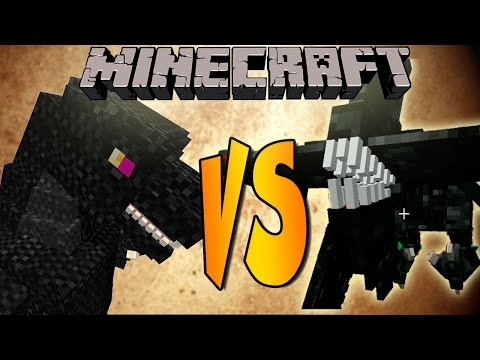MOBZILLA VS NIGHTMARE - Minecraft Batallas de Mobs - Mods
