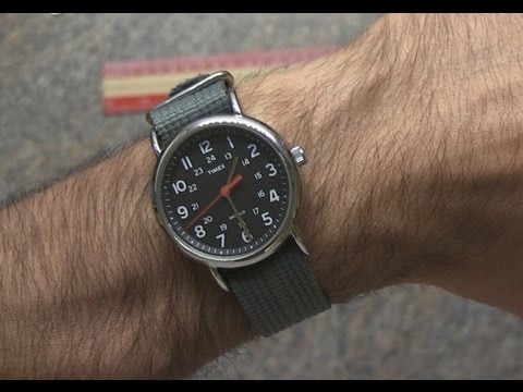 Timex Weekender Slip-Thru Strap Watch Review