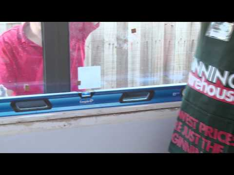 How To Install An Aluminium Window - DIY At Bunnings