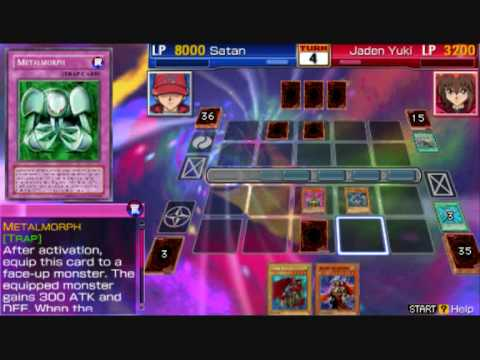 Yugioh GX Tag Force 3 (Joey Wheeler Deck) (Red Eyes Black Metal Dragon)+Recipe Video