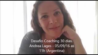 Andrea Lages Co-Fundadora ICC te Invita al Desafio Coaching