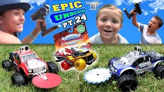 Monster Trucks Attack Golden Hot Streak! Epic Unboxing Deel 24 (Skylanders aanjagers Fun!)