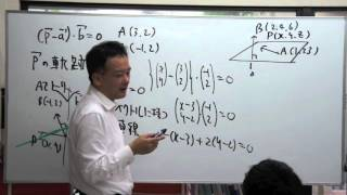 FCS数学教室/ベクトル方程式入門【中】