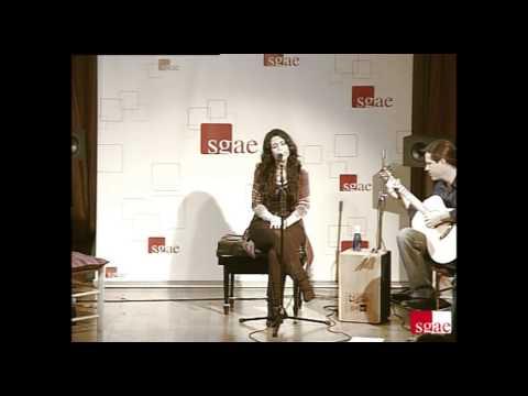 Concierto presentación primer disco de Lara Rosales: