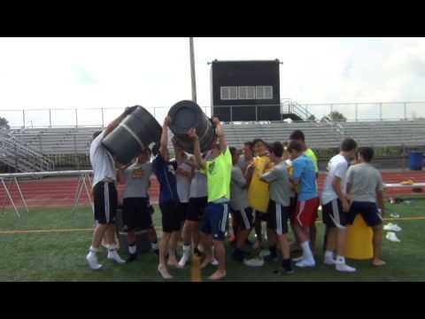 McQuaid Jesuit Soccer Team - ALS Ice Bucket Challenge