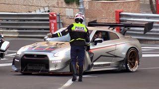POLICE vs SUPERCARS In Monaco! TOP MARQUES Monaco!