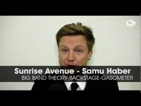 Sunrise Avenue - Big Band Theory-tour + Interview  Gasometer  Wien video