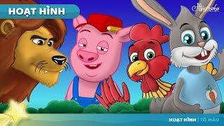 Rùa và Thỏ và 7 câu chuyện động vật | Truyện cổ tích việt nam - Hoạt hình