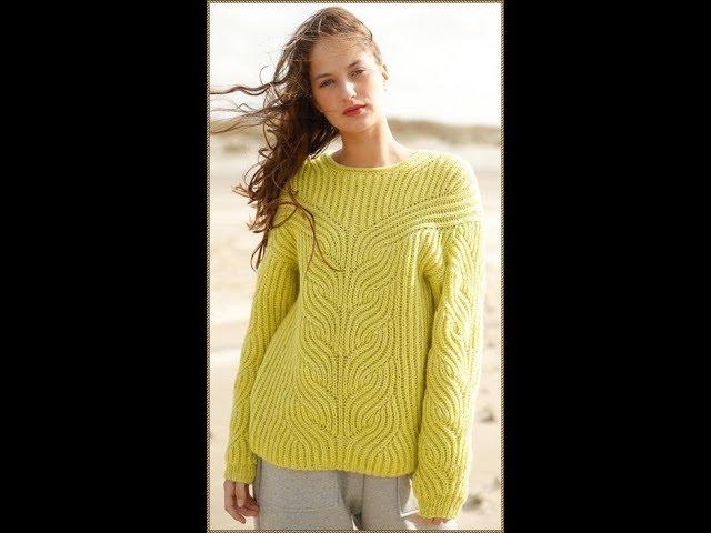 Вязание Спицами - Пуловеры для Женщин - модели - 2019 / Knitting Needles Pullovers for Women Models
