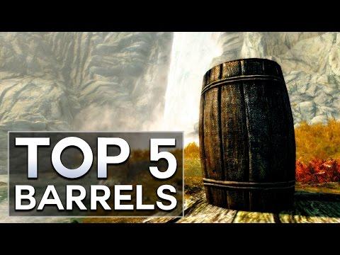 Skyrim - Top 5 Barrels