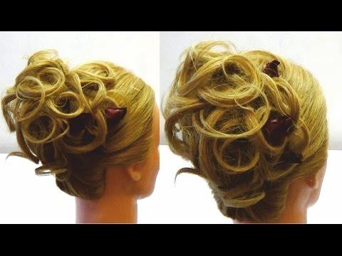 Удивительная прическа на вечер. Amazing hairstyle tutorial compilation 2017
