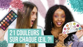 EVERY SHADE PALETTE CHALLENGE ! avec PerfectHonesty et Honey Shay