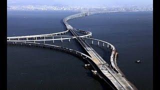 চীনের দীর্ঘতম ব্রীজ তৈরীর ইতিকথা । Discovery Bangla Dcoumentary YouTube #Hangzhou Bay Bridge#