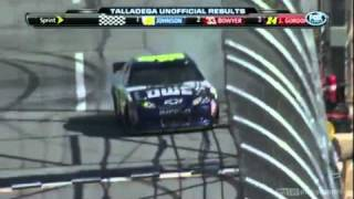 2011 NASCAR Sprint Cup Aarons 499 at Talladega Photo Finish