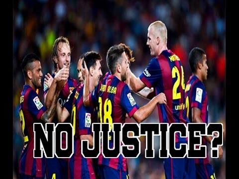 Court of Arbitration Serves No Justice [FC Barcelona Fined]