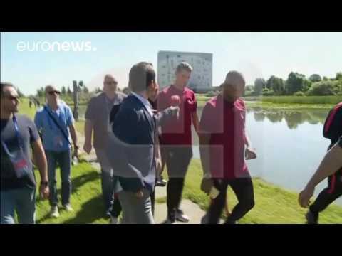 Euro 2016 : Cristiano Ronaldo n'aime pas les micros