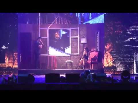 Сергей Лазарев и Ани Лорак - Медленно ( Шоу Каролина в Ледовом 27.09.15)