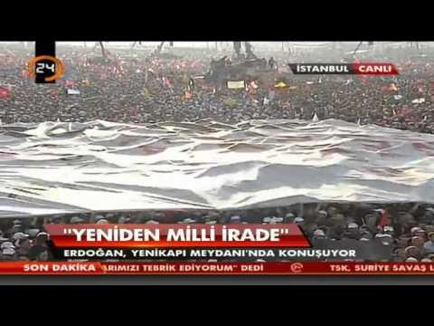 Recep Tayyip Erdoğan 'DUA' şiiri (İstanbul Mitingi)