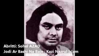 Kobita Abritti :Jodi Ar Bashi Na Baje : Kazi Nazrul Islam : Abritti : Sohel AZAD