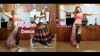 Turkish Gypsy Dance Roman Havasi Flamenco I Bulerìas de Càdiz Spanish Dance