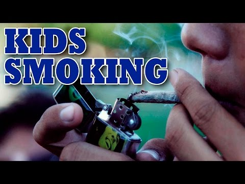 Kid Smoking   Social experiments in India  Experiment in India  By VDO