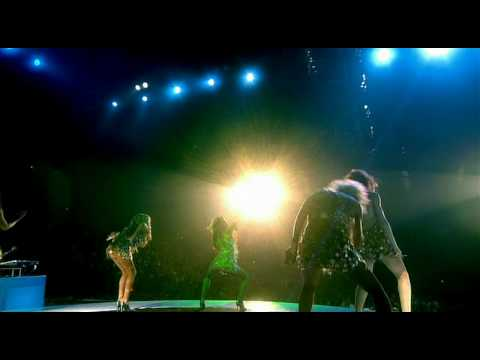 Girls Aloud - Wake Me Up &amp; Walk This Way - HD [Tangled Up Tour DVD]