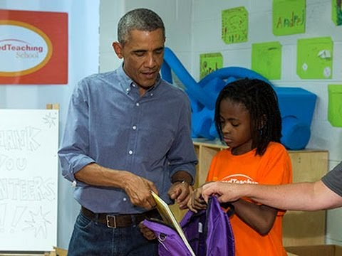 Student Tells Obama: 'I Really Wanted... Beyonce