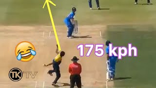 Dangerously Stupid Bowling In cricket history - Worst Bowling Moments - TKTV